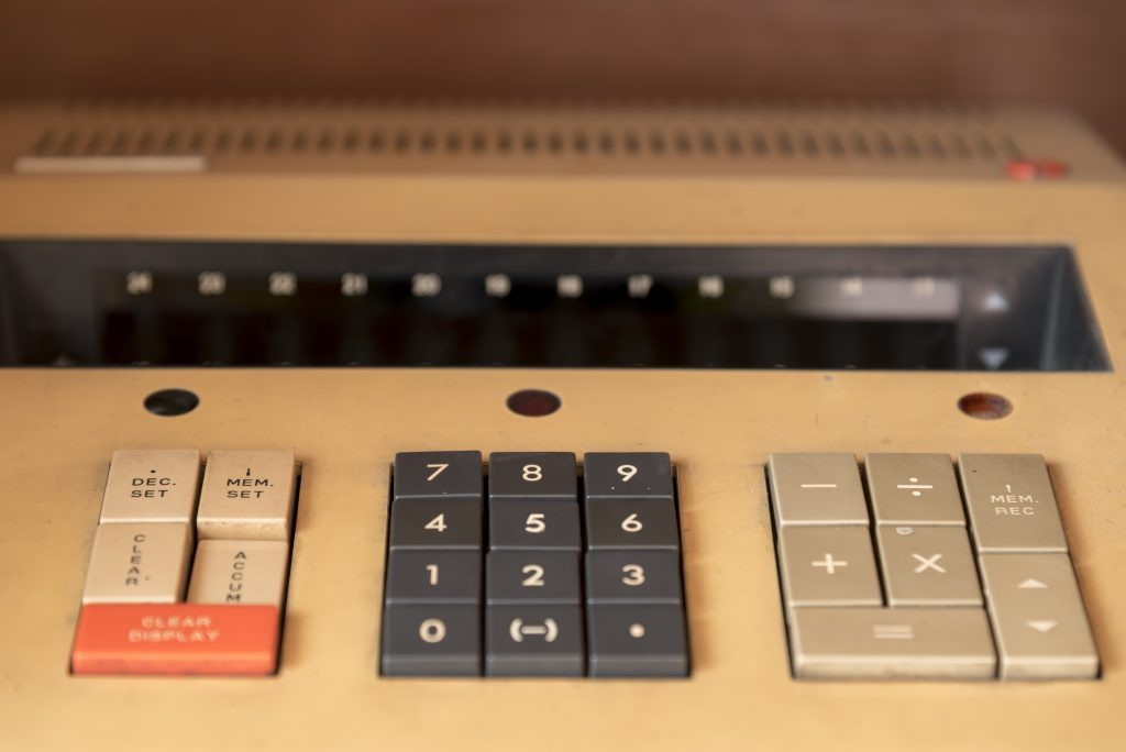 rustic calculator :)